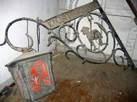 altes Apothekenschild Klosterapotheke Lamspringe