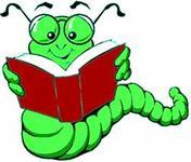 Bücherwurm, grün