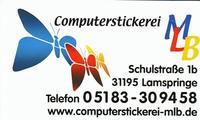 Computerstickerei Böhme