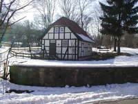 Klostermühle im Schnee