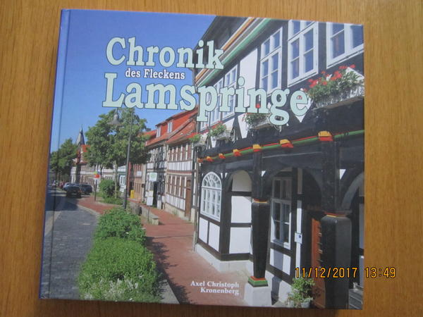 Chronik Lamspringe Buch